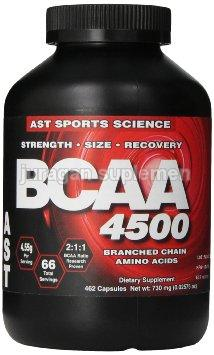 Ast BCAA 4500 mg 462 Caps